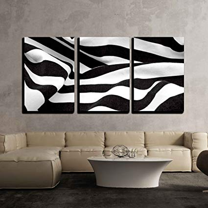 Amazon.com: wall26 - 3 Piece Canvas Wall Art - Black and White