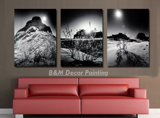 Hot Selling Free Shipping Canvas 3 Pieces Wall Art Modern Art Home