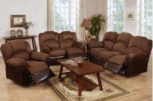 A&J Homes Studio Wilson Reclining 3 Piece Living Room Set & Reviews