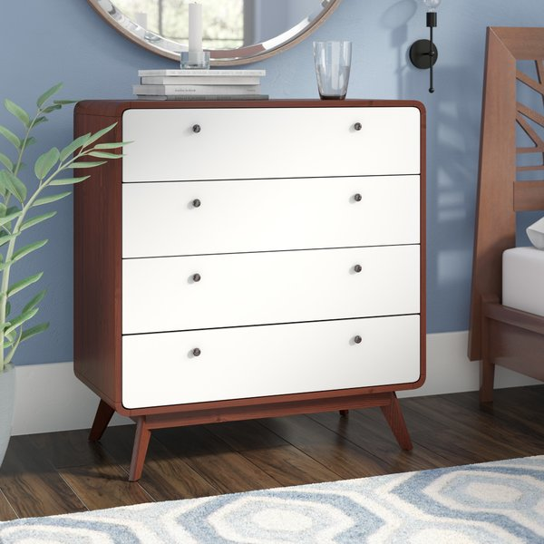 Langley Street Trinity 4 Drawer Dresser & Reviews | Wayfair