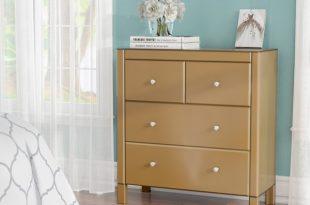 Willa Arlo Interiors Felica Mirrored 4 Drawer Dresser | Wayfair