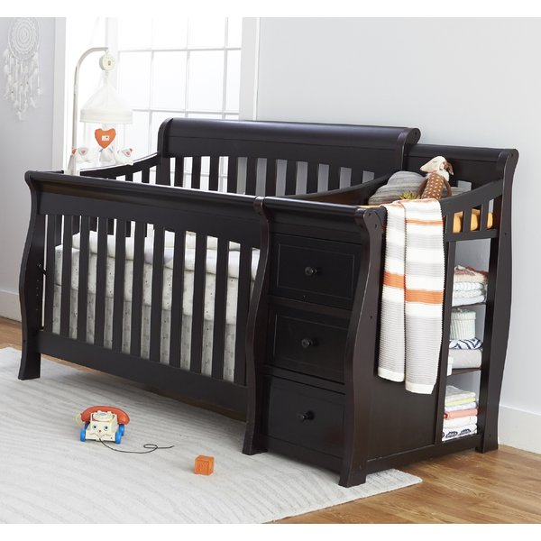 Sorelle Princeton Elite 4-in-1 Convertible Crib and Changer