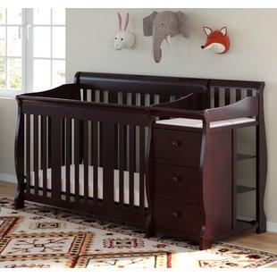 Pine Crib & Changing Table Combo You'll Love | Wayfair