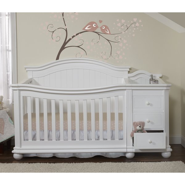 Sorelle Vista Elite 4-in-1 Convertible Crib and Changer & Reviews