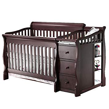 4 In 1 Crib With Changing Table