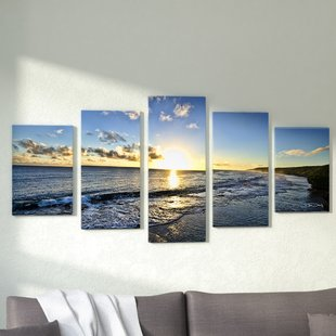 4+ Piece Gallery Wrapped Canvas Wall Art You'll Love | Wayfair