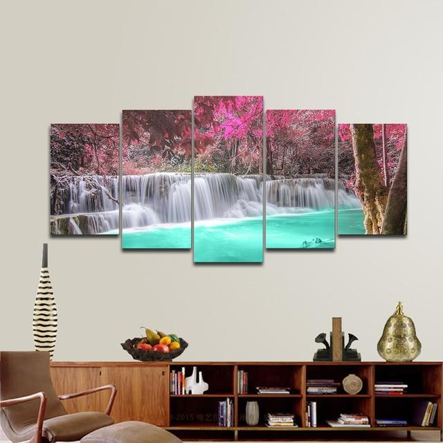 5 Piece Framed Canvas Wall Art