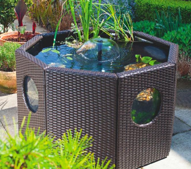 Beautiful Above Ground Fish Pond Designs u2013 DesigninYou