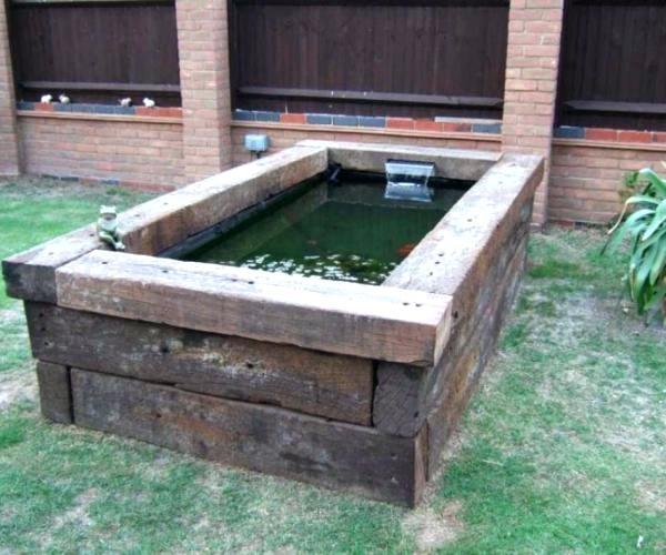 Pond Designs Above Ground Backyard Garden Ponds Uk u2013 landclub.co