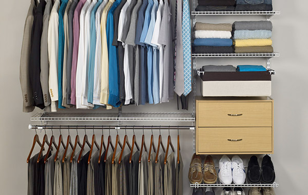 Closet & Shelving Systems, Organizers