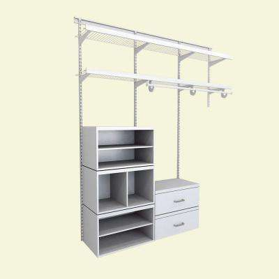 Track - Wood Closet Systems - Closet Systems - The Home Depot