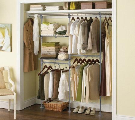 Extend-It Adjustable Closet Organization System - Page 1 u2014 QVC.com