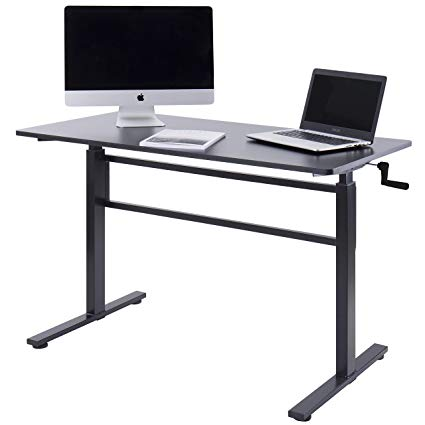 Amazon.com: UNICOO - Crank Adjustable Height Standing Desk