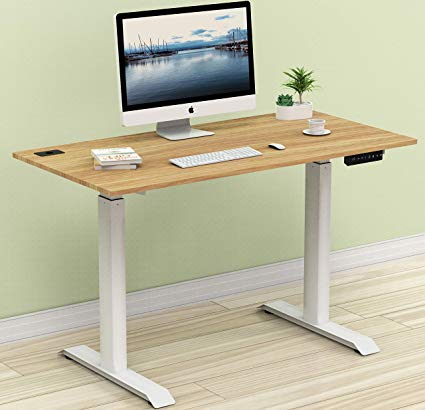 Amazon.com: SHW Electric Height Adjustable Computer Desk, 48 x 24