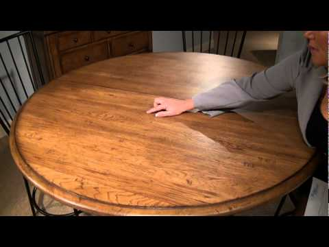 Main Street Round Adjustable Height Pedestal Dining Table by Better