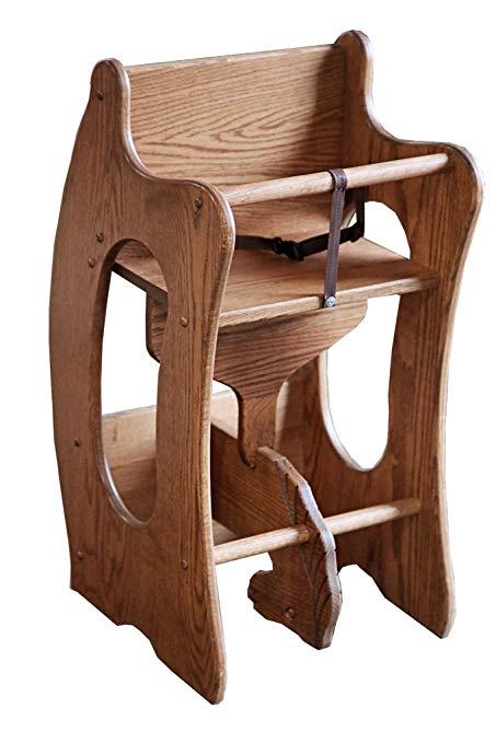 Amazon.com: Amish Craftsman Wooden Furniture 3-in-1 Childrens High