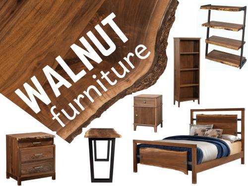 Walnut Wood Amish Furniture - Countryside Amish Furniture