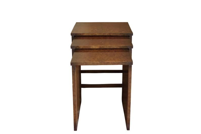Vintage Art Deco Nesting Tables - Original Antique Furniture