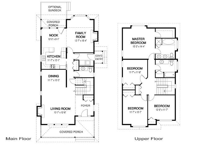 House Plans - Maple - Linwood Custom Homes