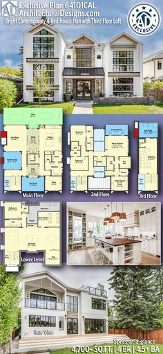 244 Best Architectural Designs Exclusive House Plans images in 2019