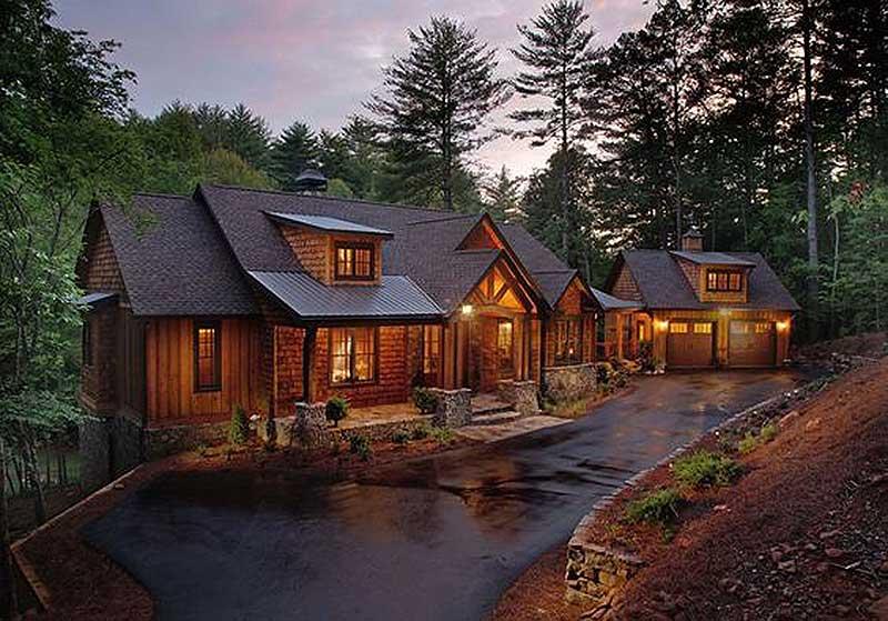 Splendid Mountain Home Plan - 24111BG | Architectural Designs