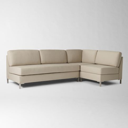 Armless Sectional Sofa Contemporary Inspirational 83 About Remodel