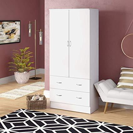 Amazon.com: Simple Interior Contemporary Armoire Wardrobe - Bedroom