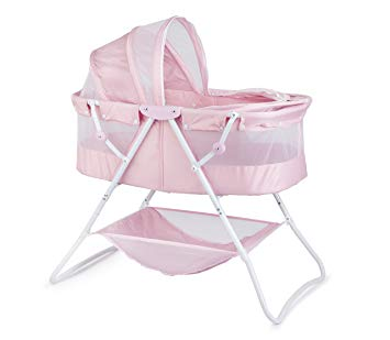 Amazon.com : Big Oshi Emma Newborn Baby Bassinet - Portable Bassinet