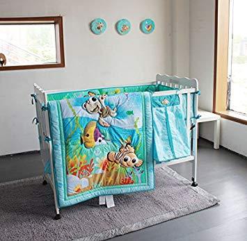 Amazon.com : New Baby Boy Girl Neutral Animal Ocean Nemo 11pcs Crib