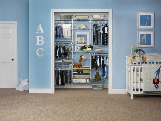 Baby Closet Organizers and Dividers | HGTV
