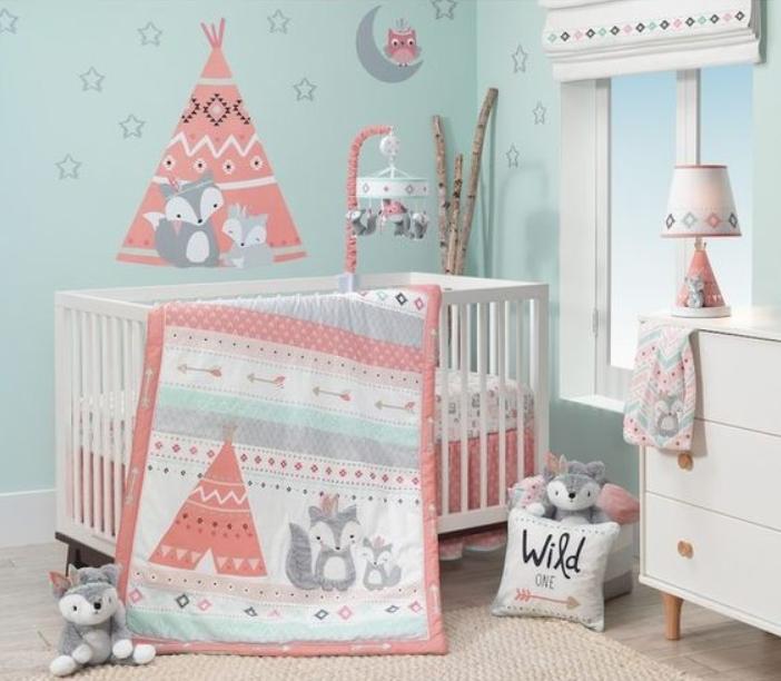 Baby Girl Nursery Themes Ideas