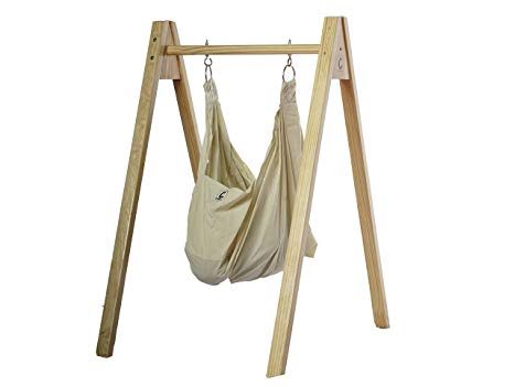 Buy CuddlyCoo Baby Hammock/Cradle with Stand - Organic Cotton and