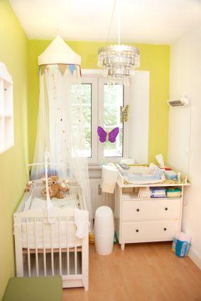 7 ways to create a green nursery | BABY | Small baby nursery, Baby