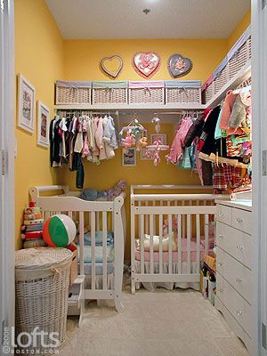 Put Baby in the Closet: 5 Lovely Converted Closet Nurseries