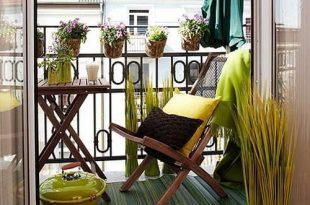 35 Lovely And Inspiring Small Balcony Ideas - Small House Decor