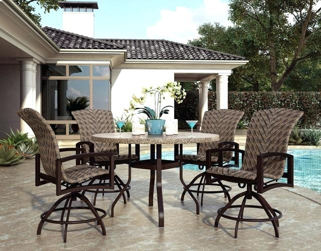 Counter Height Patio Sets Bar Top Patio Furniture Counter Height