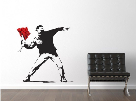 Top 5 Banksy Wall Art Stickers | Banksy's Art On Your Own Walls!