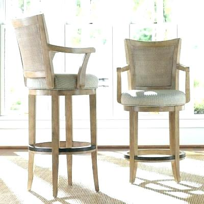Bar Chairs With Arms Swivel Bar Stool With Arms Leather Bar Stools