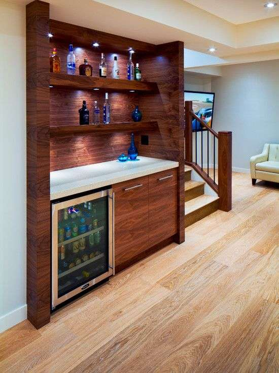 Best Basement Bar Ideas For Small Spaces Of 118 Corner