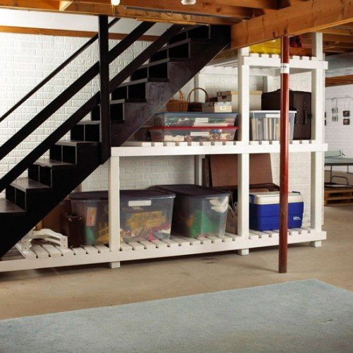 5 Basement Under Stairs Storage Ideas - Shelterness