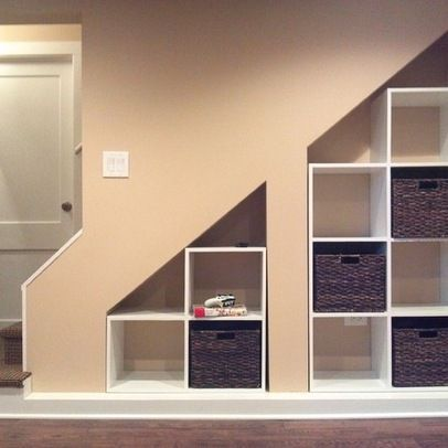 Basement Under Stairs Storage Ideas | under stair storage | for the