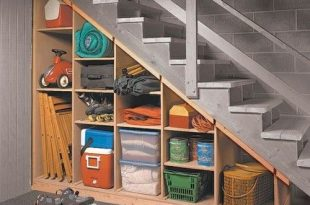 Maximize that tricky under-the-stairs storage spot with these tips