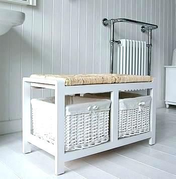 bathroom storage bench u2013 home design