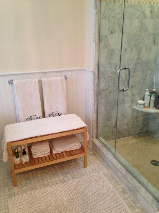 How a Cute Ikea Bathroom Bench Cured My Dry Skin   Beauty Tips