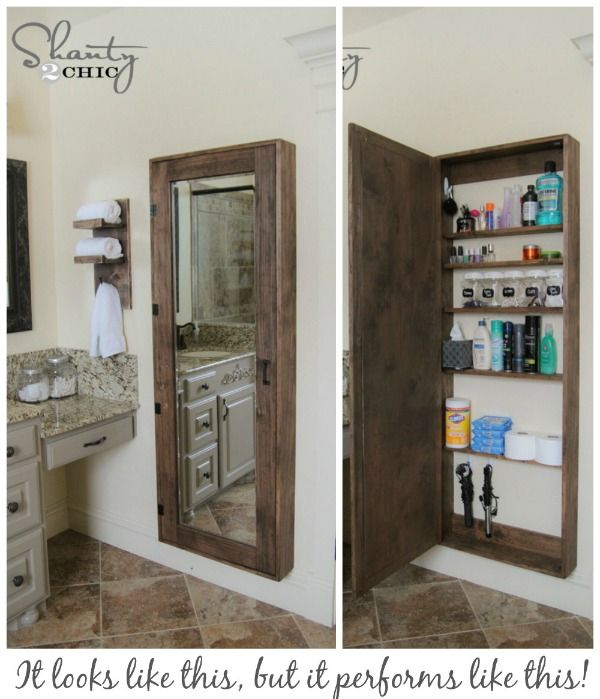 Bathroom Storage Solutions - Small Space Hacks & Tricks