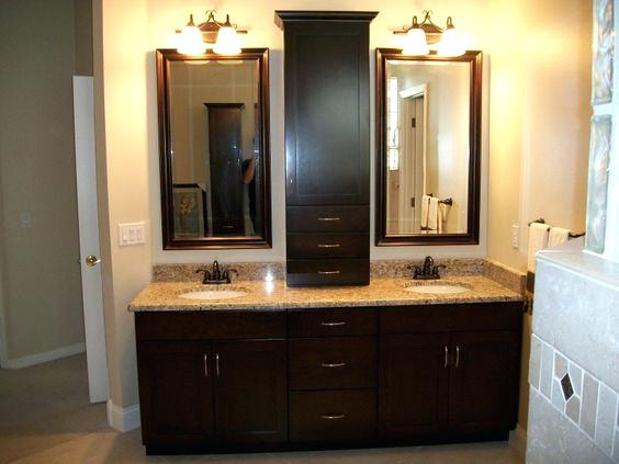 Countertop Storage Cabinet Awesome Bathroom Cabinet Bathroom Storage