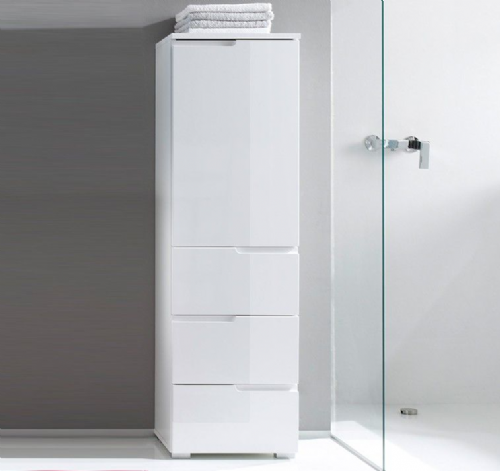 Tall Slim Free Standing Bathroom Linen Cabinets - furniturefactor