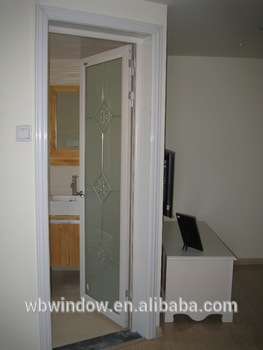 Glass Bathroom Entry Doors