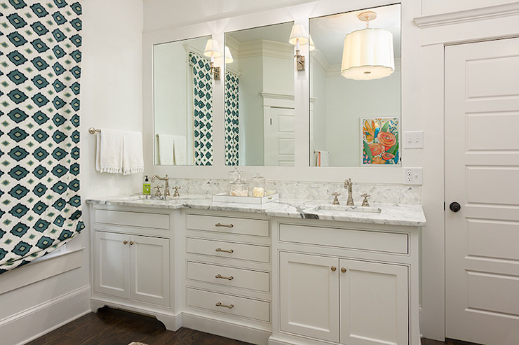 Double Vanity Ideas - Transitional - bathroom - Colordrunk Design