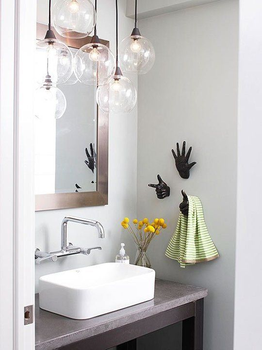 Brighten Up Your Bath: 8 Super Stylish Lighting Ideas | lighting